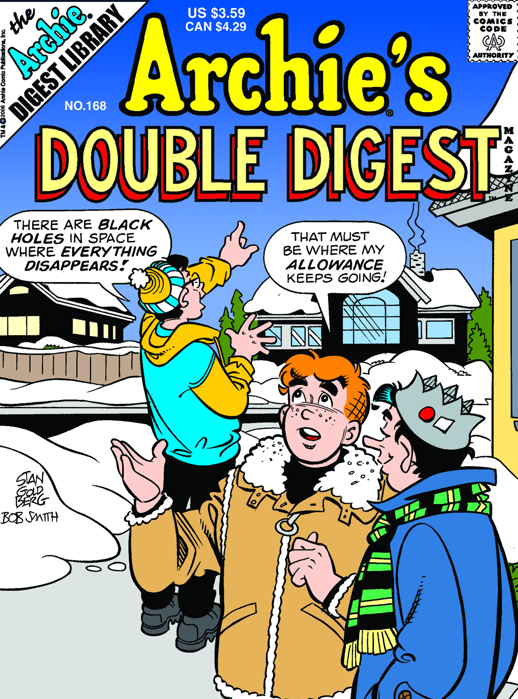 ARCHIE DOUBLE DIGEST #168