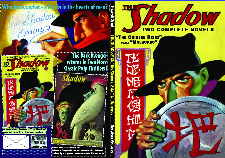 SHADOW DOUBLE NOVEL VOL 2
