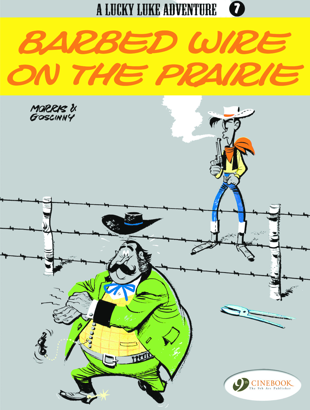 LUCKY LUKE 07 BARBED WIRE ON THE PRAIRIE