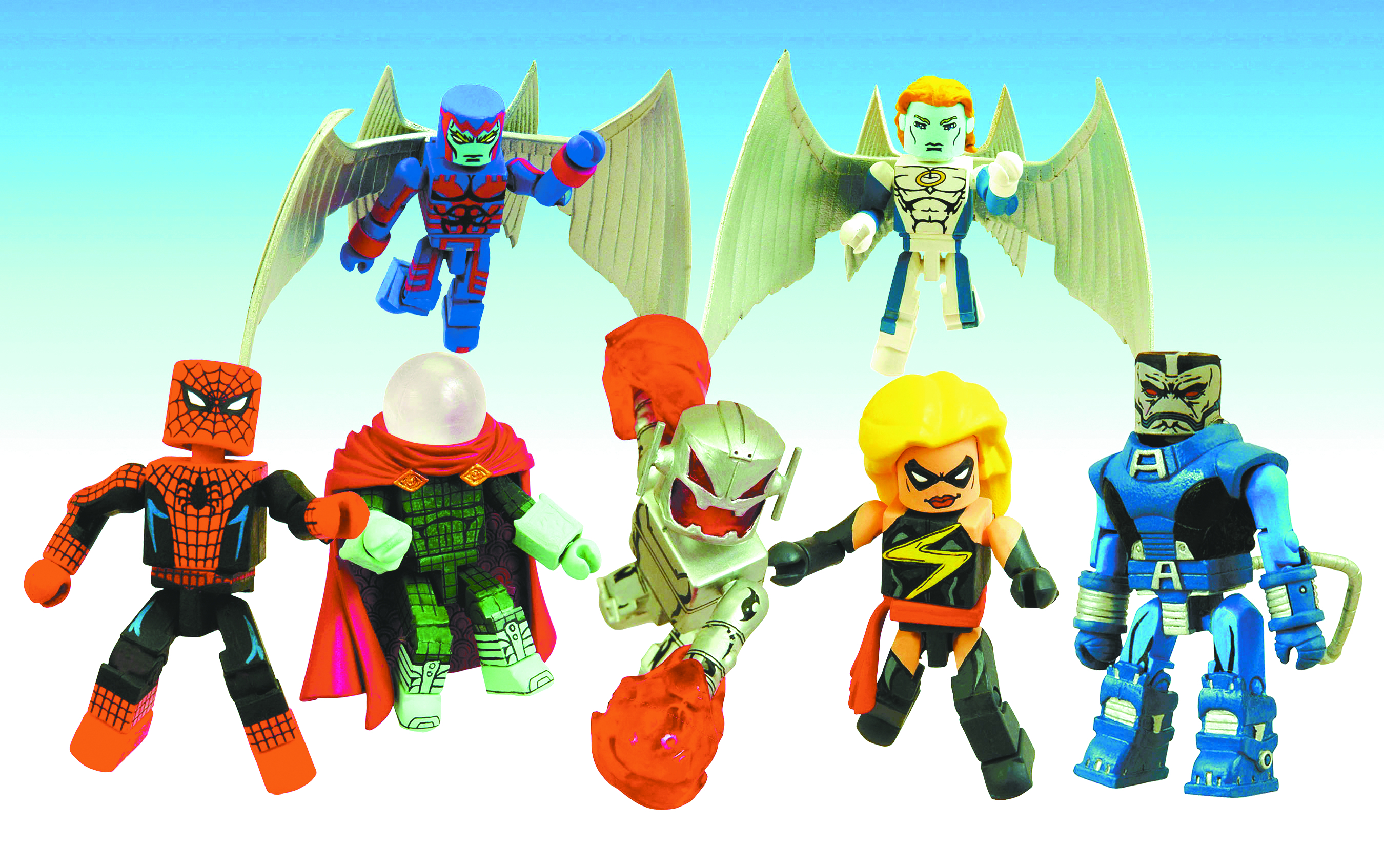 Marvel Minimates série 20 HAVOK /& Polaris