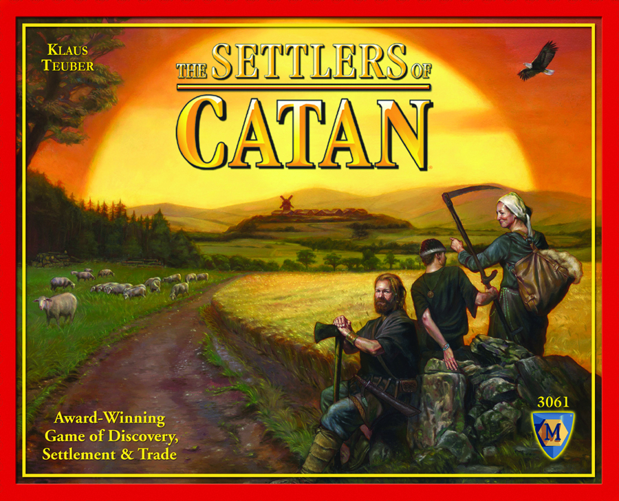 SETTLERS OF CATAN NEW ED