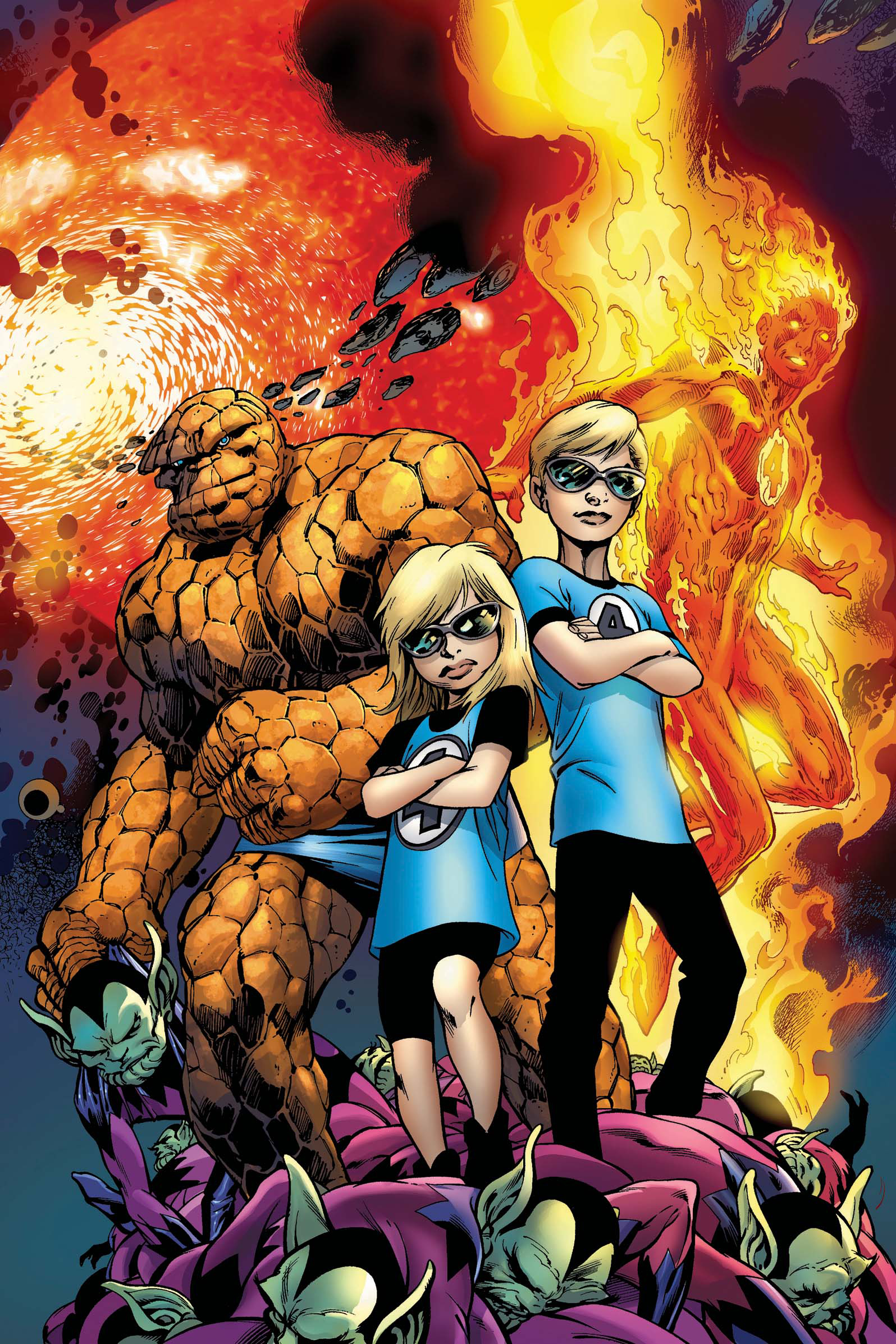 SECRET INVASION FANTASTIC FOUR #3 (OF 3) SI
