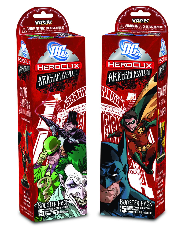 Heroclix DC Arkham Asylum 3x LASHINA #019