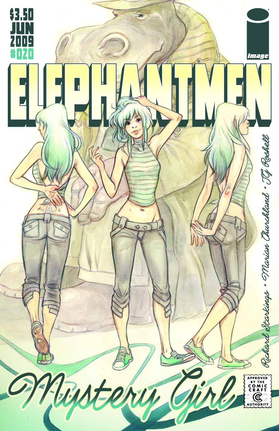 ELEPHANTMEN #20 (RES)