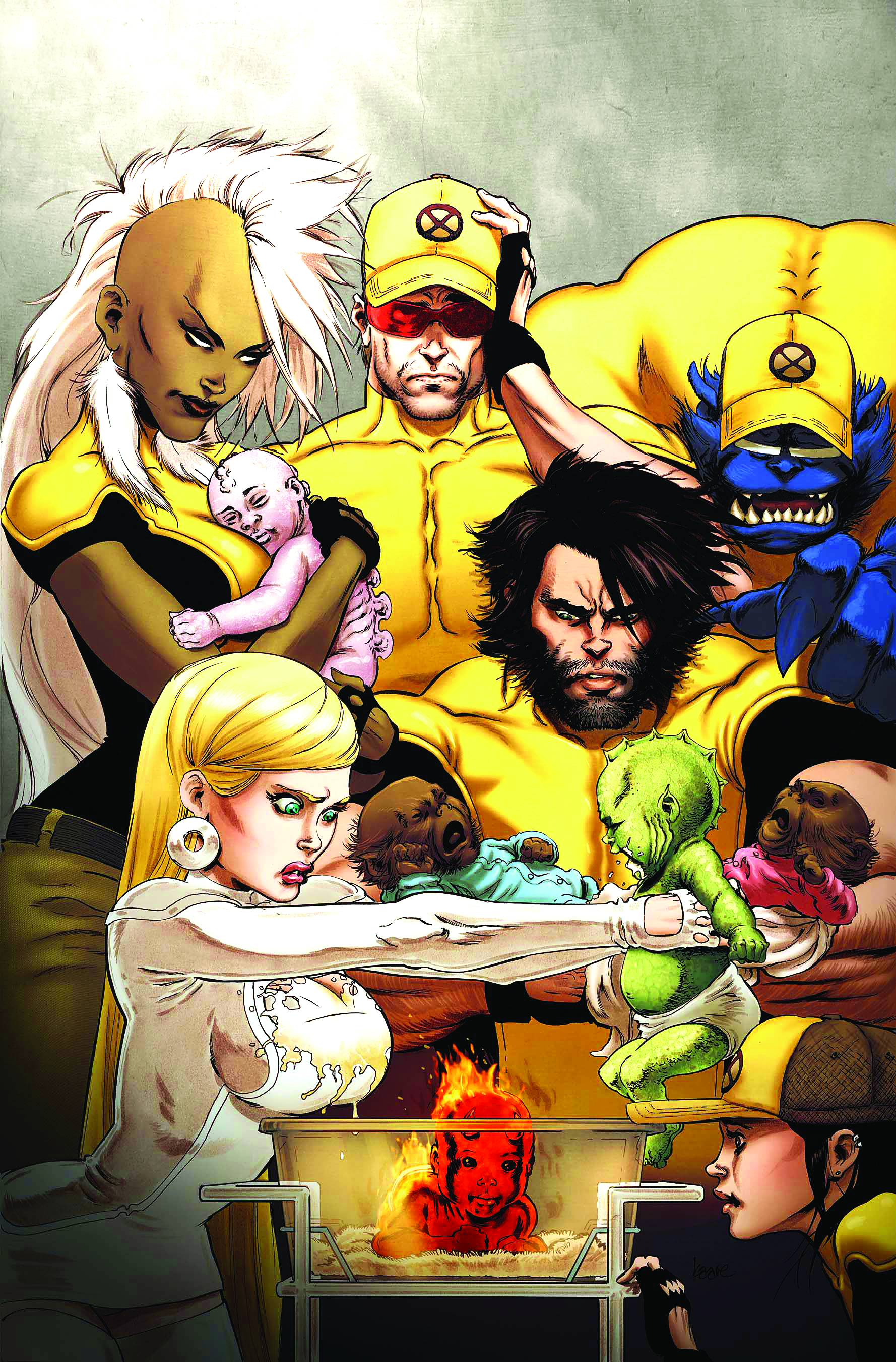 ASTONISHING X-MEN XENOGENESIS #2 (OF 5)