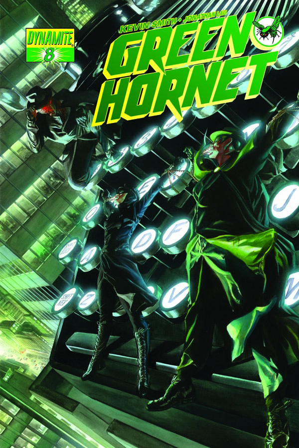 KEVIN SMITH GREEN HORNET #8