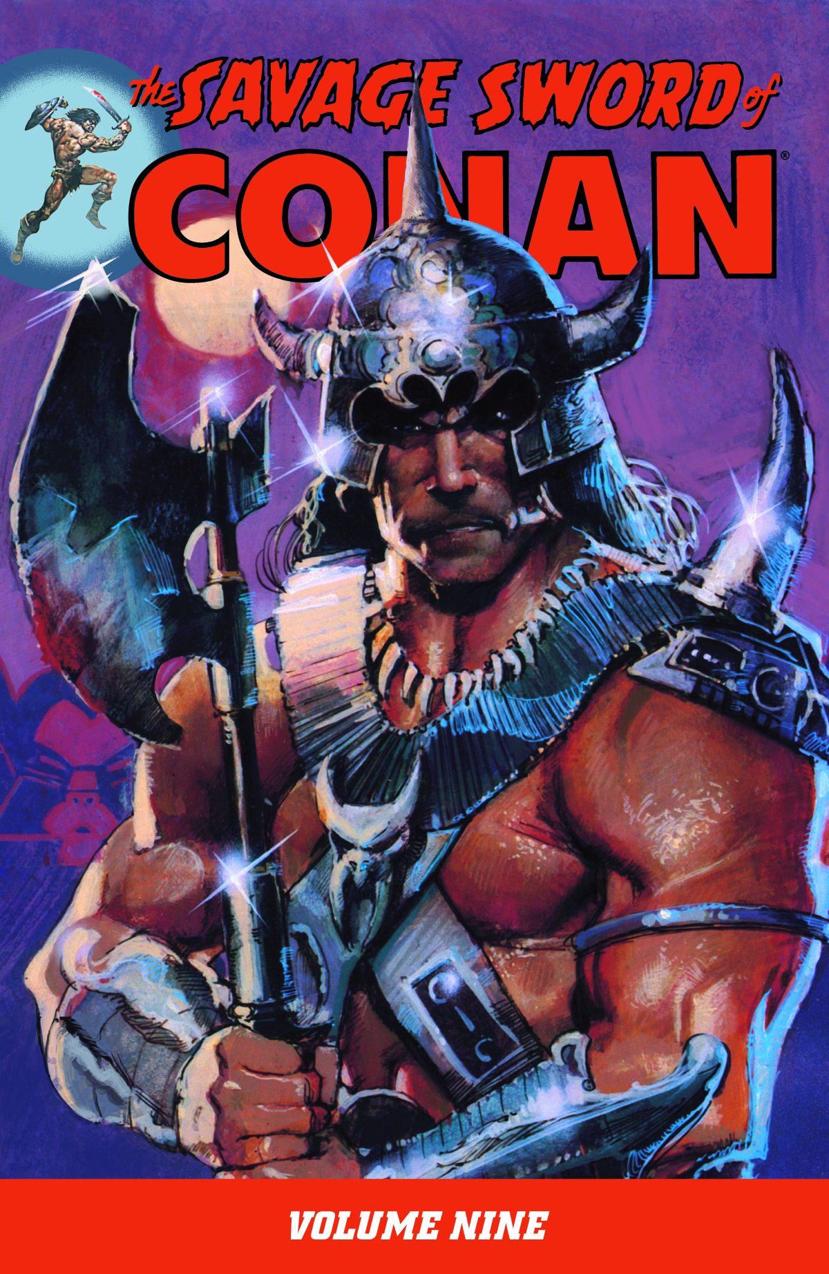 SAVAGE SWORD OF CONAN TP VOL 09