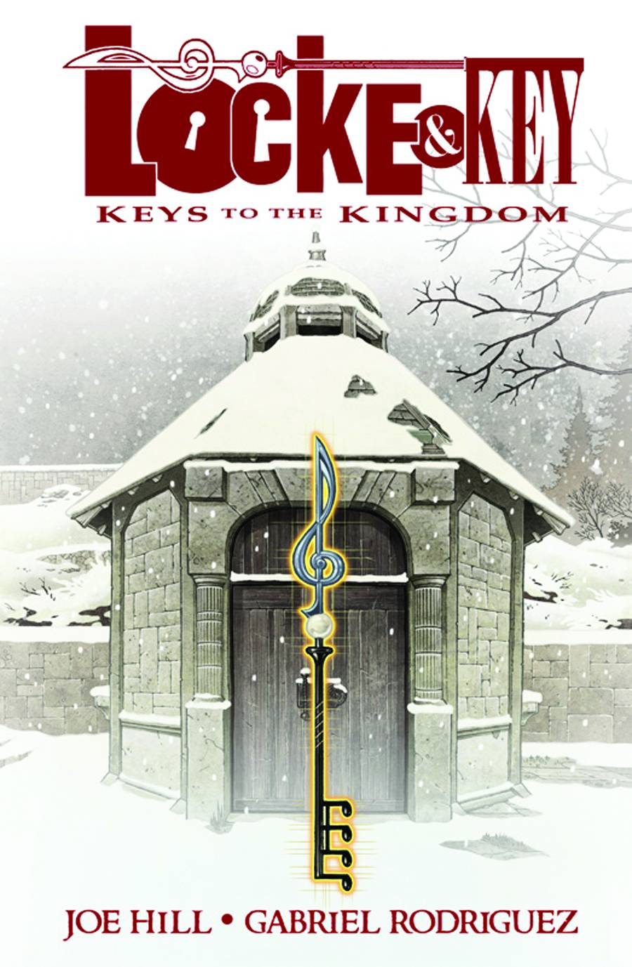 LOCKE & KEY HC VOL 04 KEYS TO THE KINGDOM