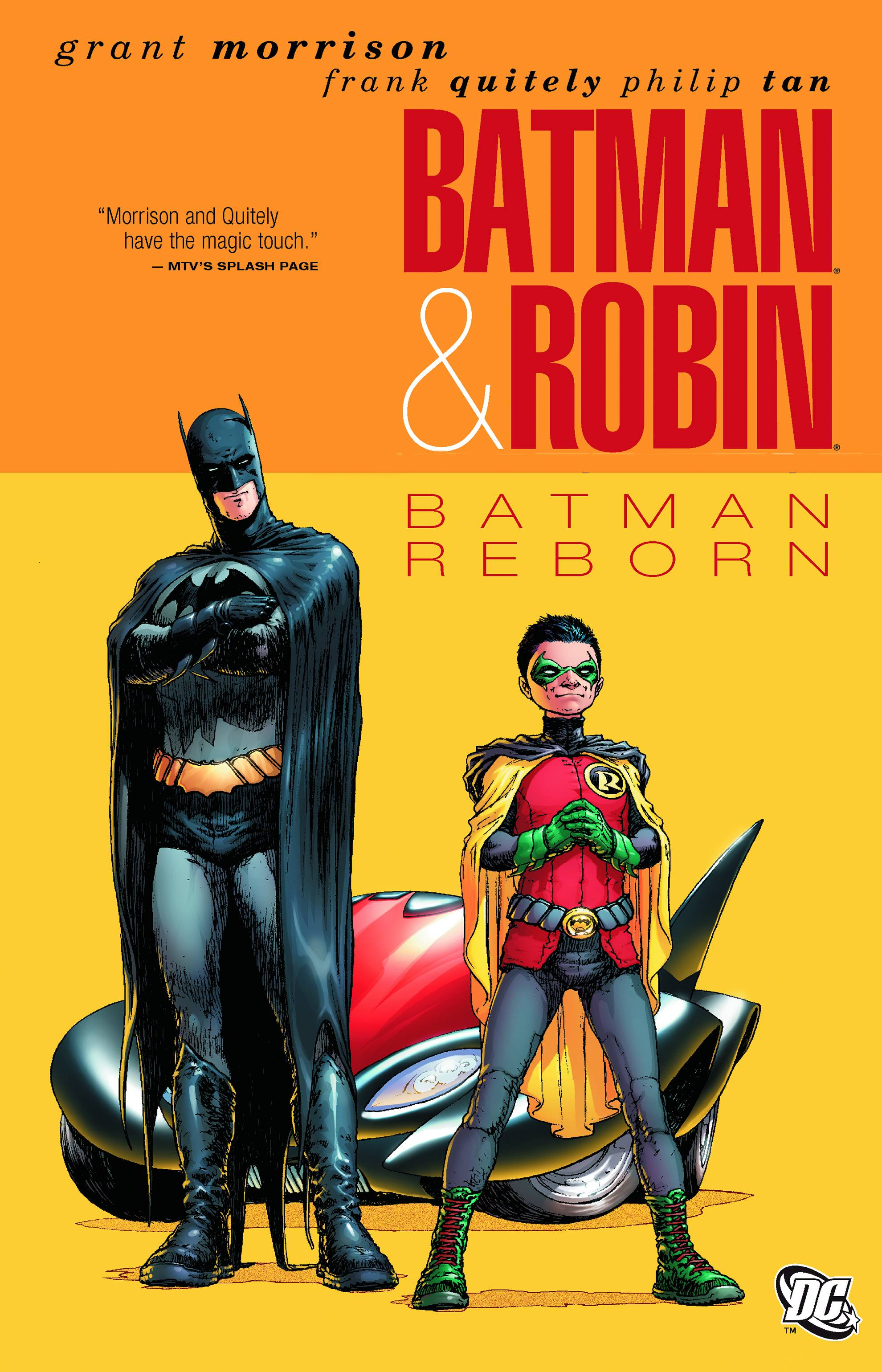 BATMAN AND ROBIN TP VOL 01 BATMAN REBORN