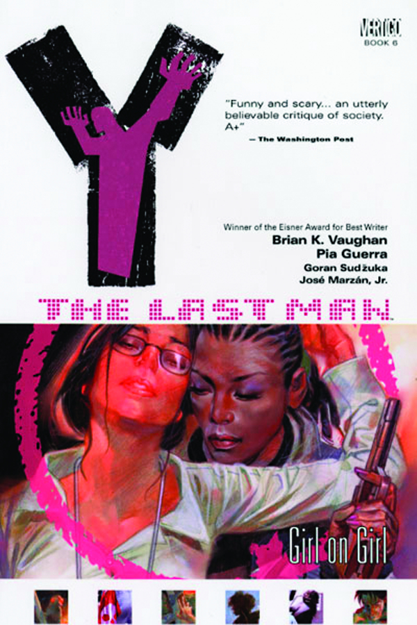 Y THE LAST MAN TP VOL 06 GIRL ON GIRL (MR)
