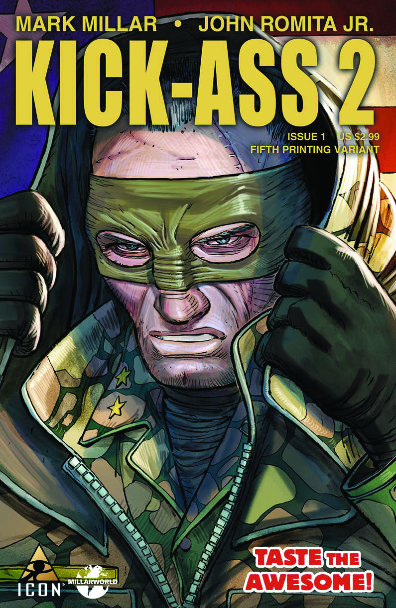 KICK-ASS 2 #1 5TH PTG JRJR VAR (MR) (PP #982) (OF 7)