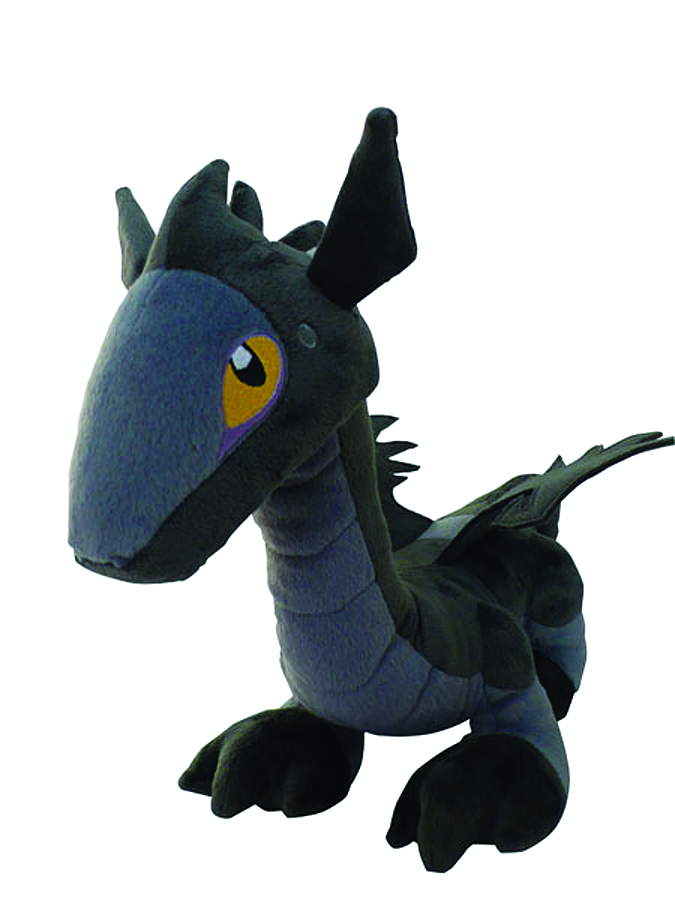 DARK DRAGON CHILD 12IN PLUSH BLUE VER