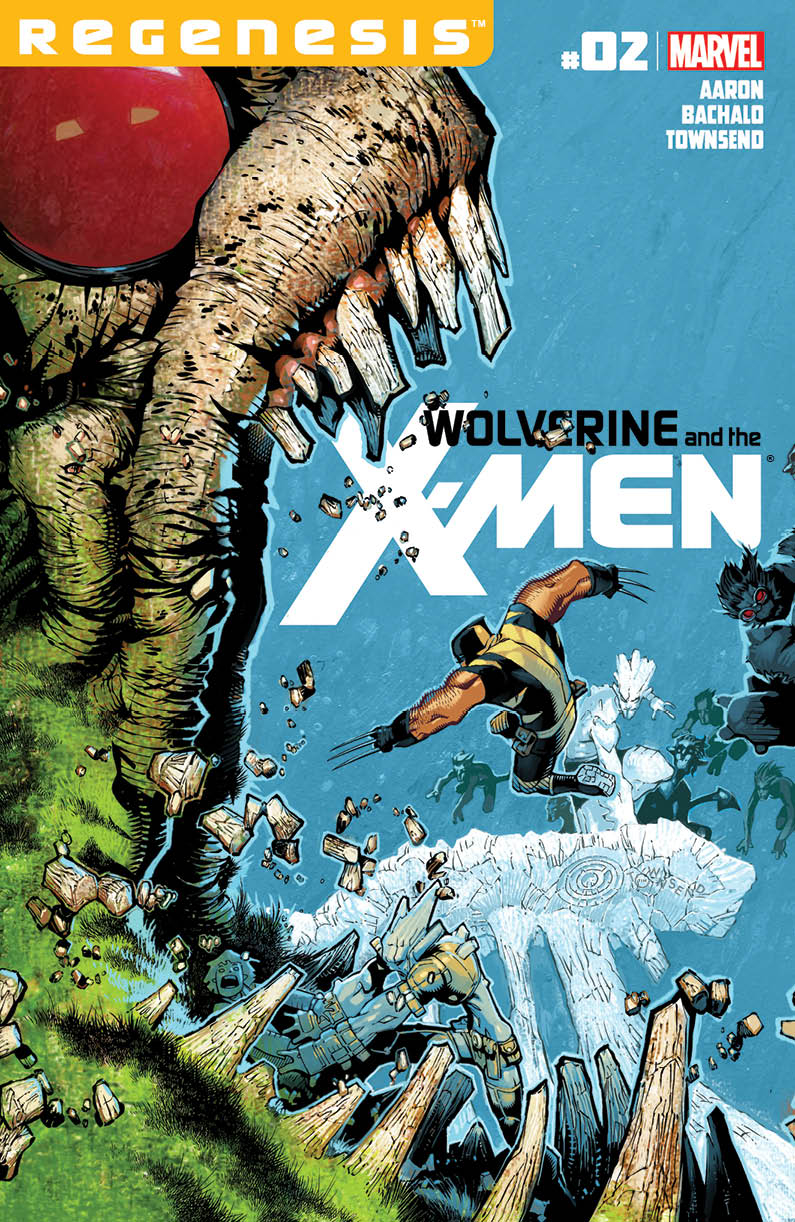 WOLVERINE AND X-MEN #2 XREGG