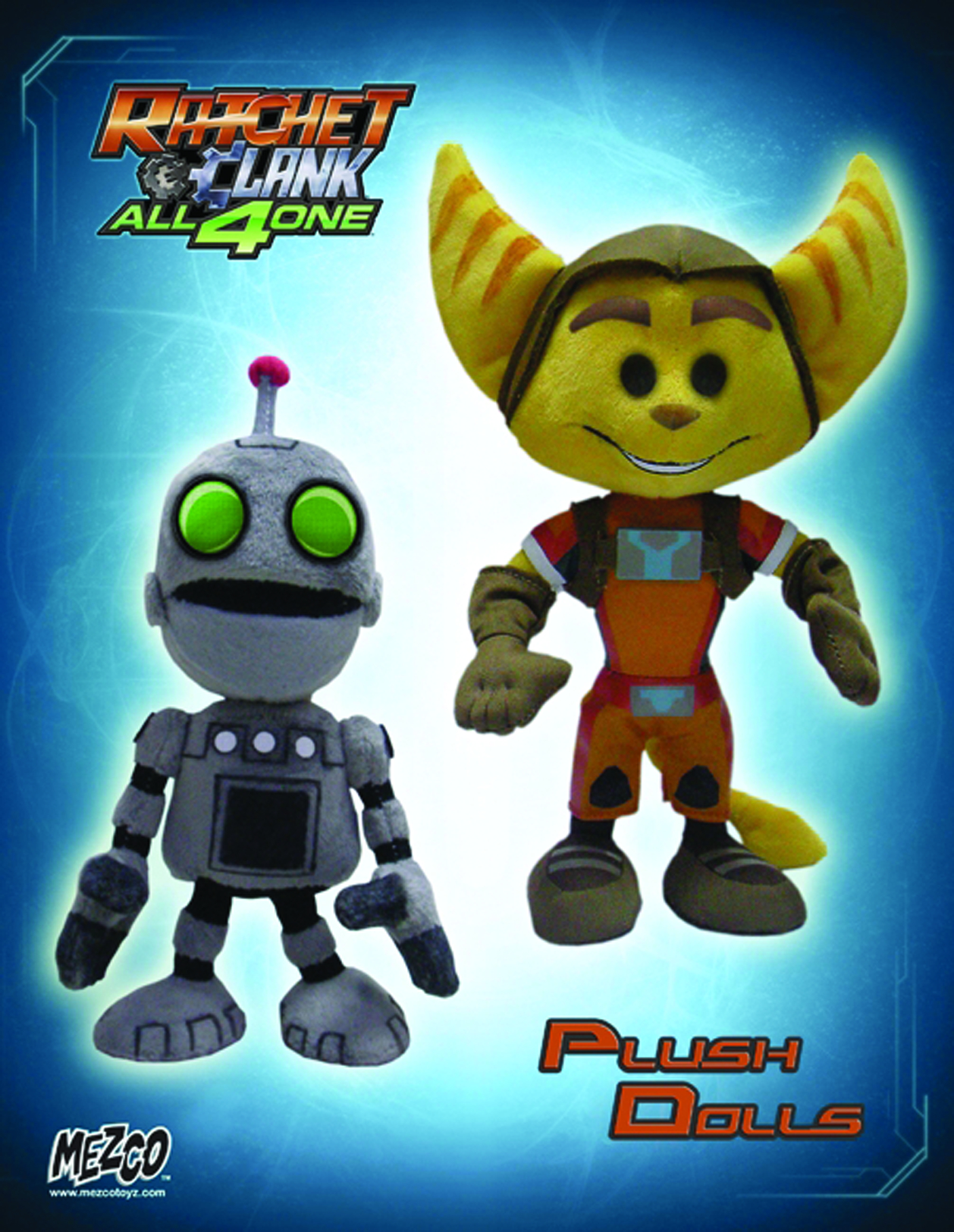 Sep111700 Ratchet Clank 8 In Plush Asst Previews World