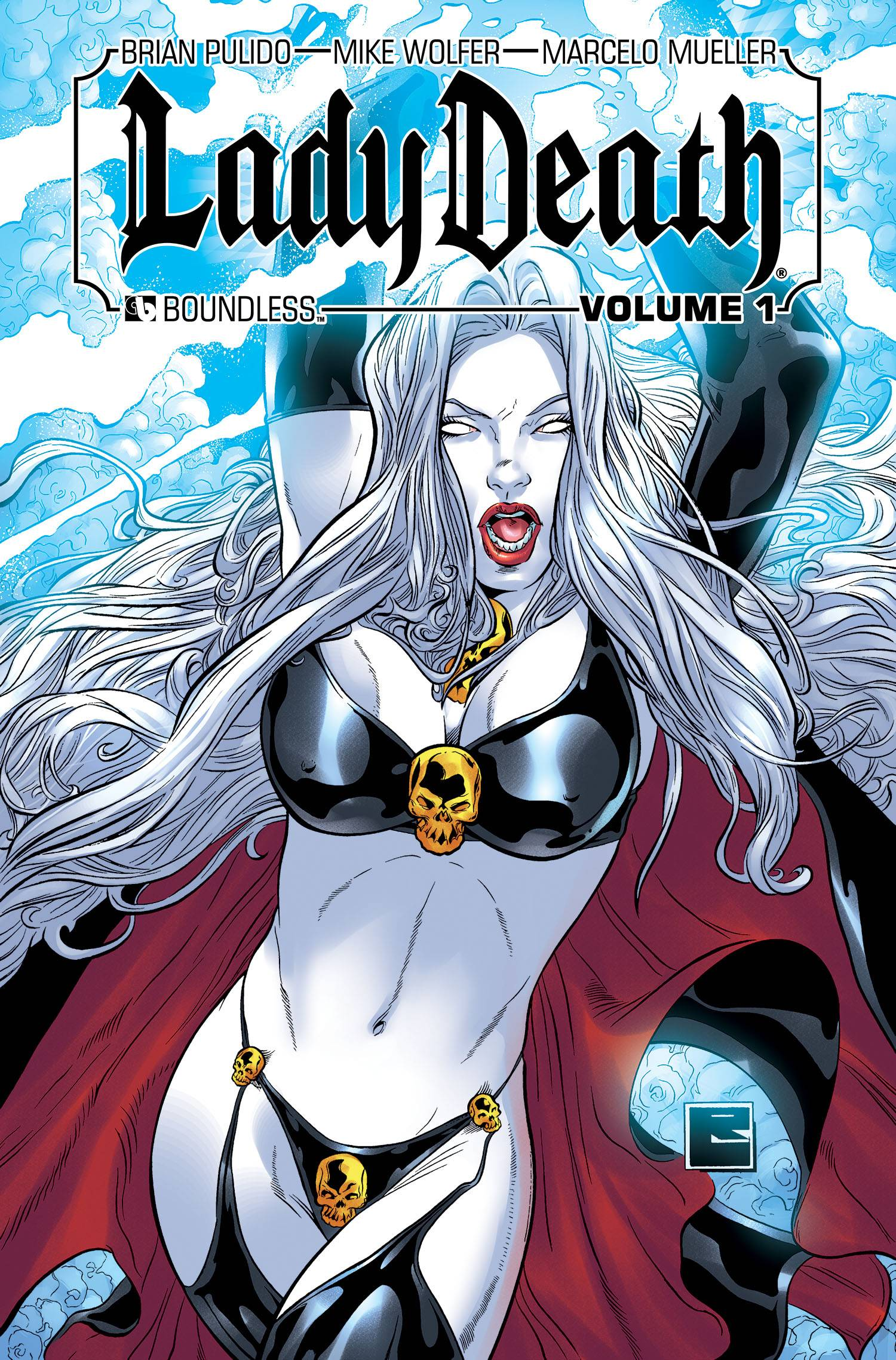 LADY DEATH (ONGOING) HC VOL 01 SIGNED ED (MR)