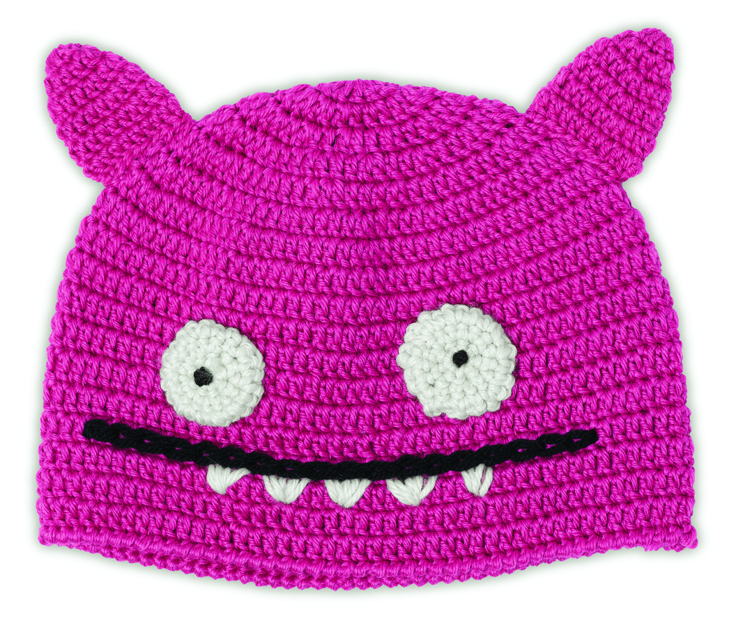 UGLYDOLL ICE-BAT PINK HAT