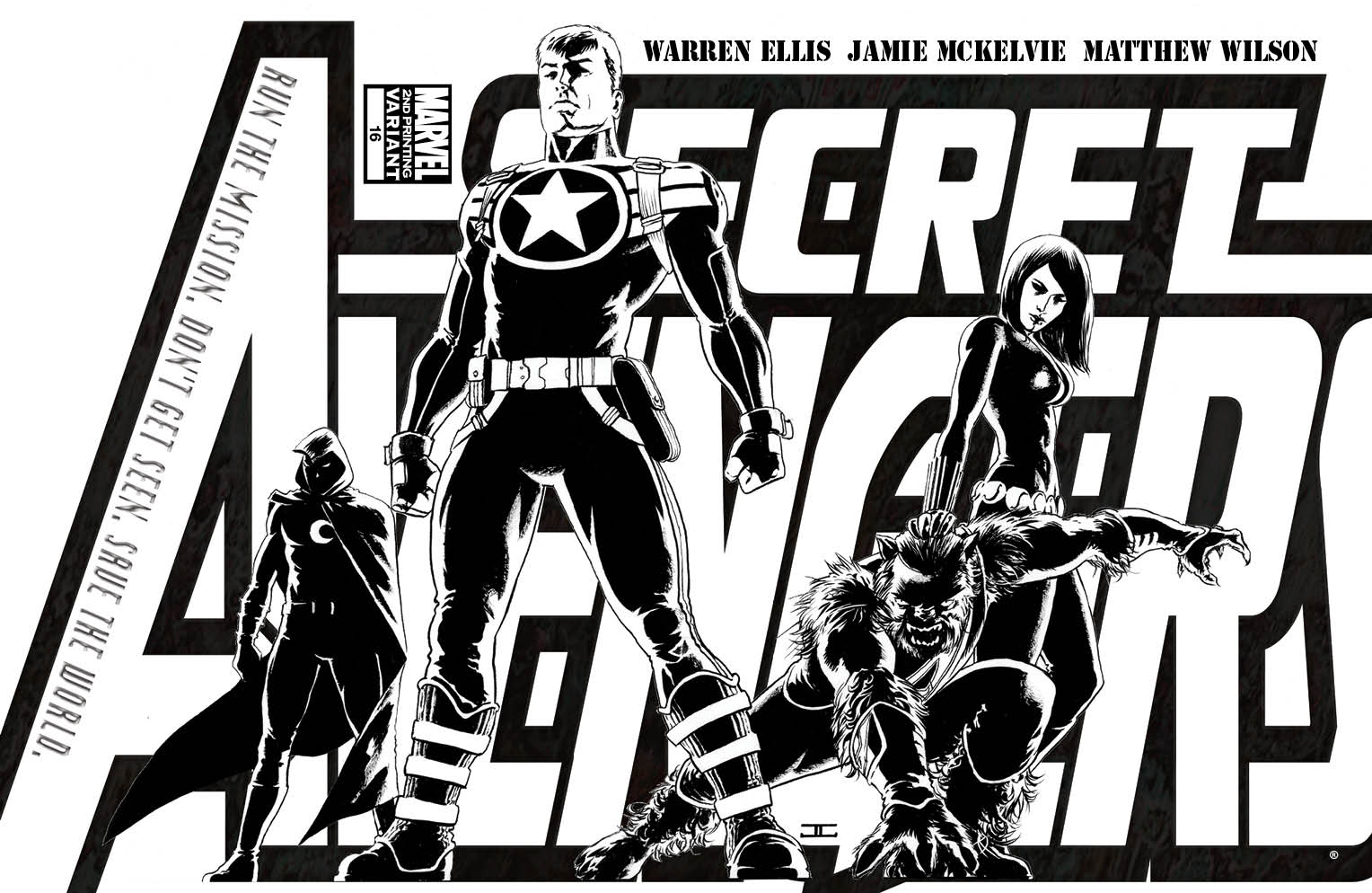 SECRET AVENGERS #16 2ND PTG VAR (PP #987)