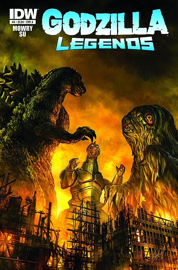 GODZILLA LEGENDS #4 (OF 5)