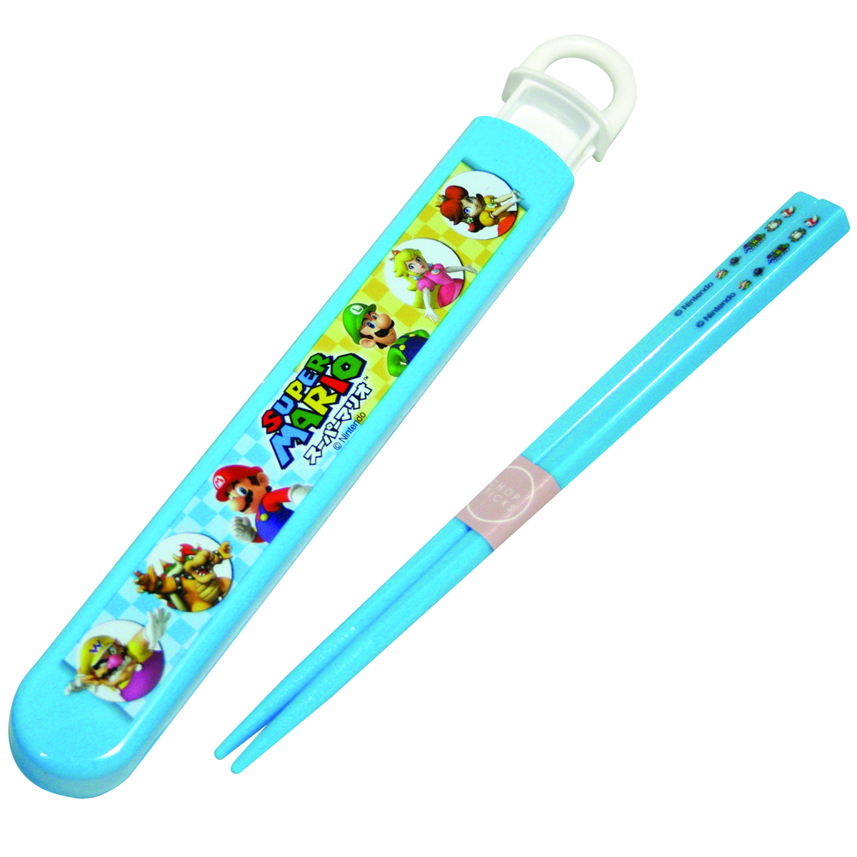 SUPER MARIO BROS. CHOPSTICKS & CASE