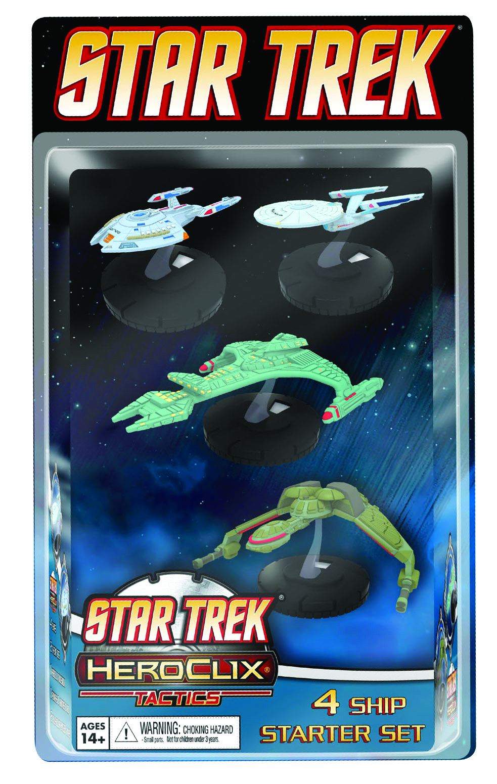 STAR TREK TACTICS HEROCLIX STARTER SET