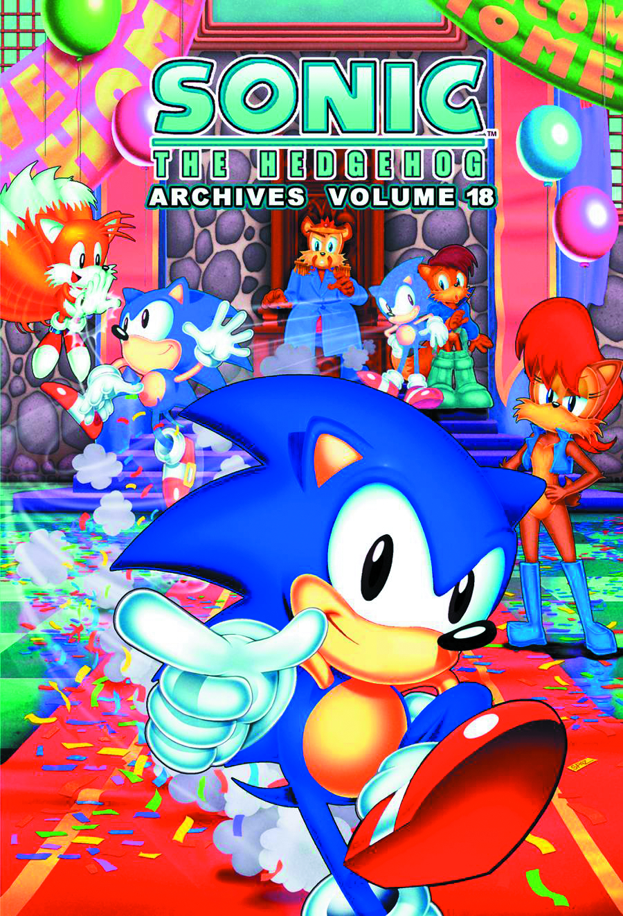 SONIC THE HEDGEHOG ARCHIVES TP VOL 18