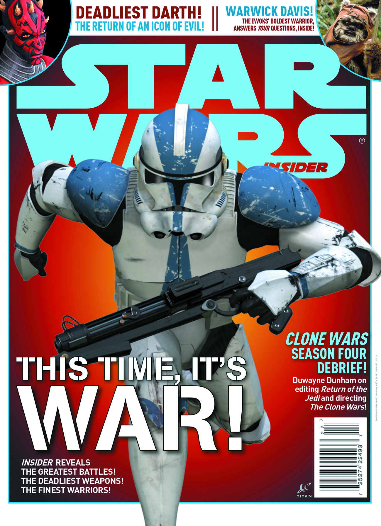 STAR WARS INSIDER #133 SPECIAL NEWSSTAND ED