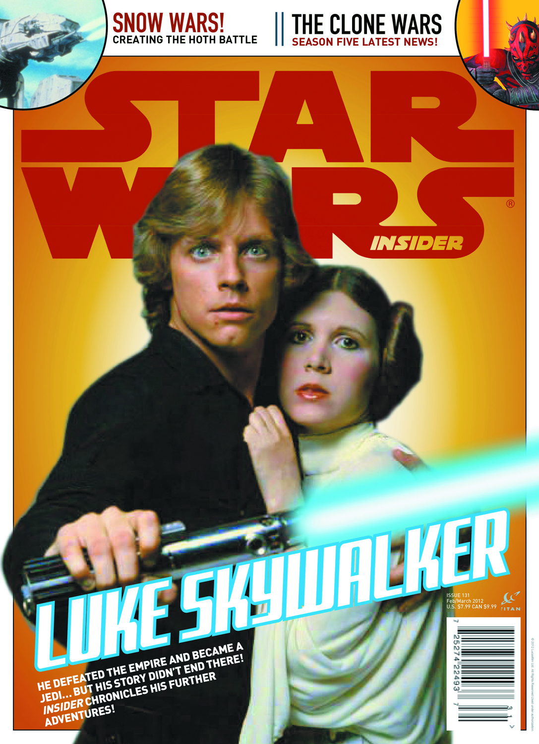 STAR WARS INSIDER #134 NEWSSTAND ED