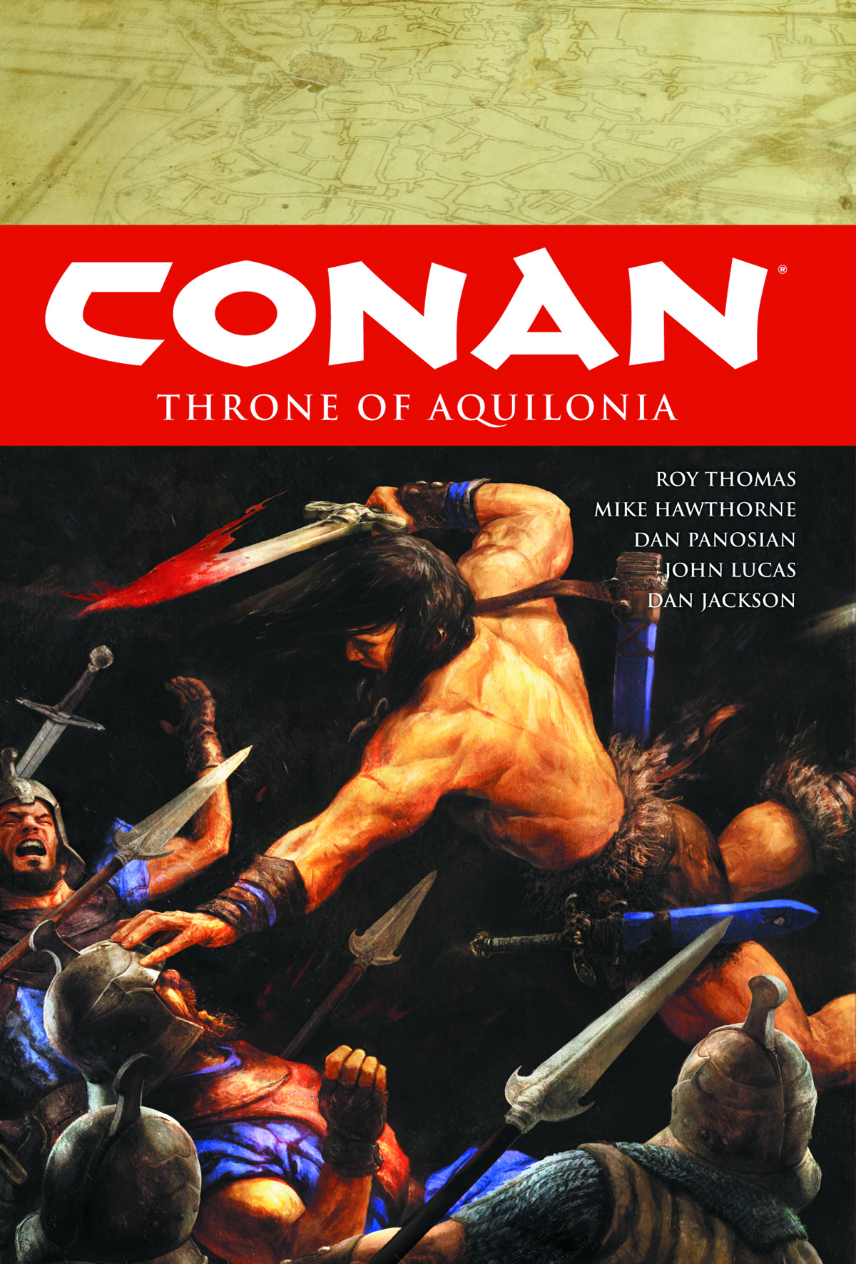 CONAN HC VOL 12 THRONE OF AQUILONIA