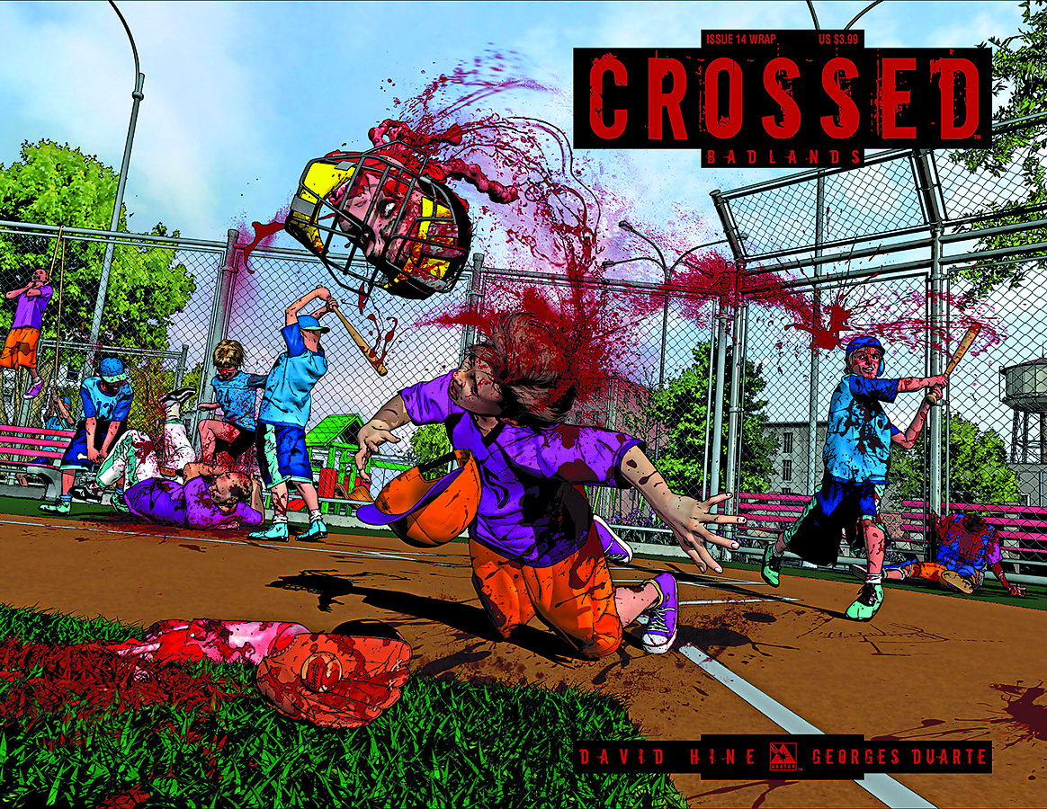 CROSSED BADLANDS #14 WRAP CVR (MR)