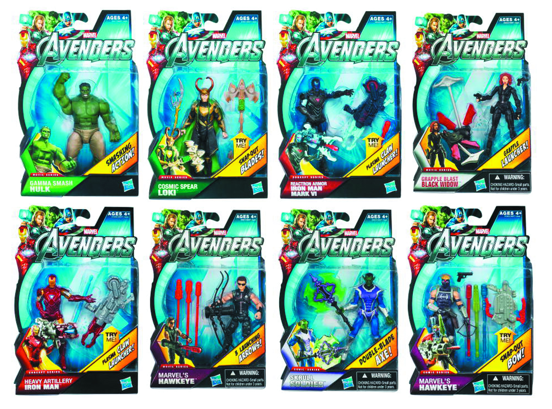 AUG121819 - AVENGERS EARTHS MIGHTIEST HEROES AF ASST 201205 - Previews World