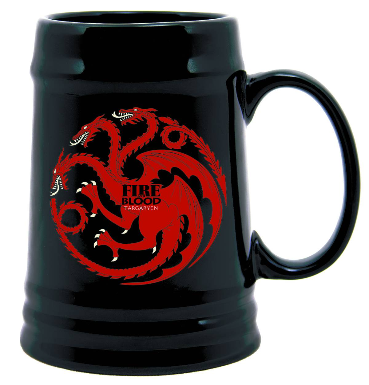 GAME OF THRONES CERAMIC STEIN TARGARYEN SIGIL (AUG120094) (C