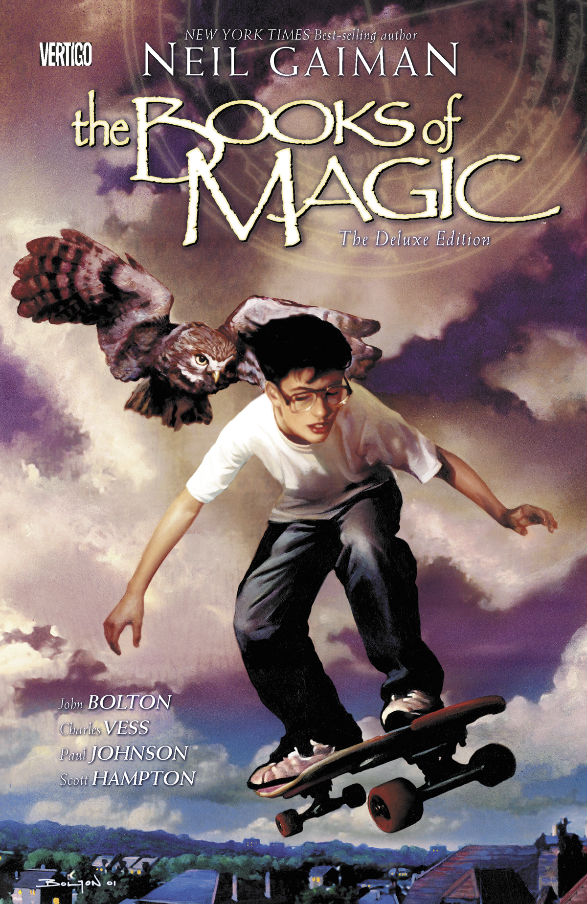 BOOKS OF MAGIC DELUXE EDITION HC (MR)