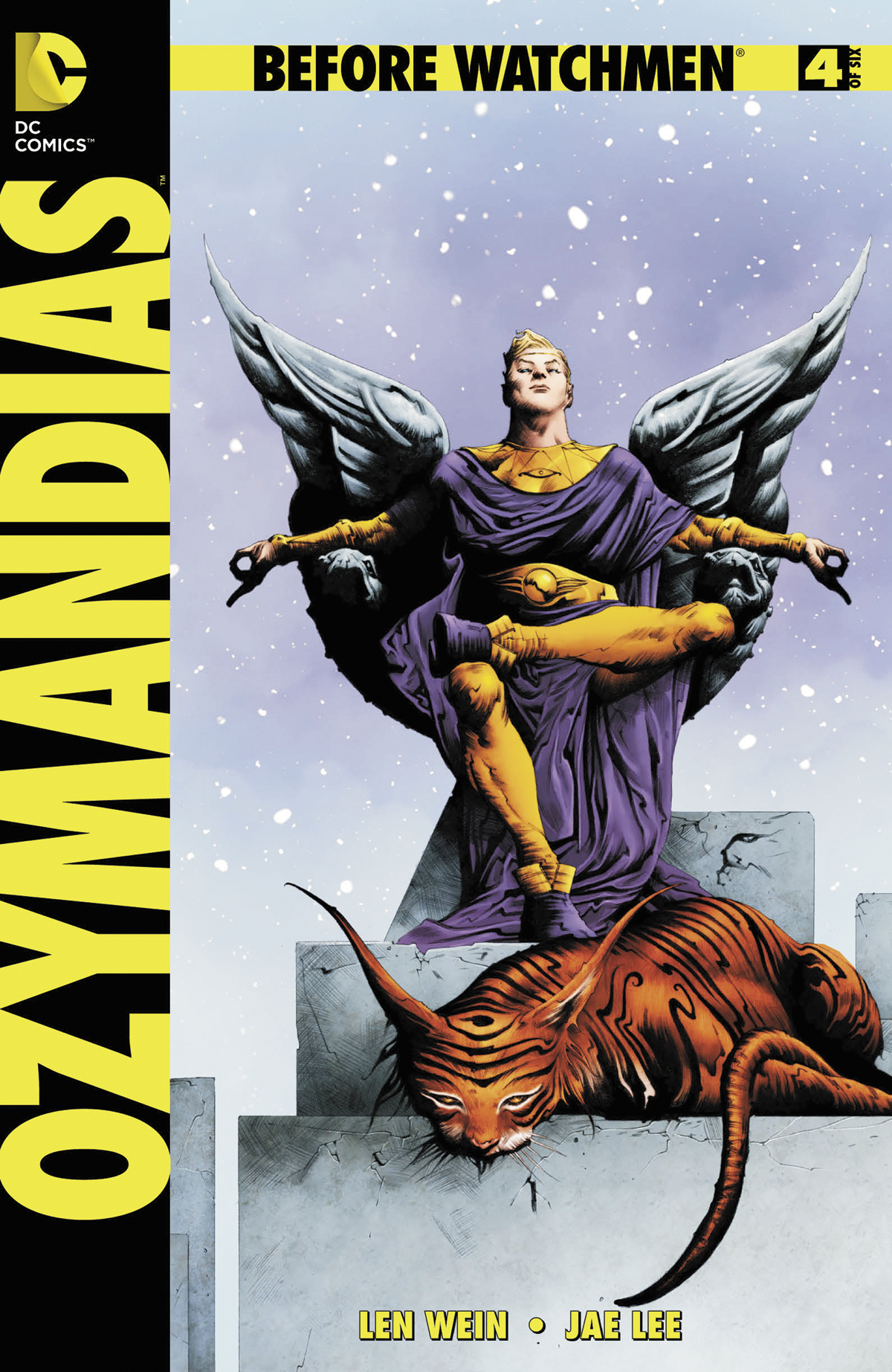 BEFORE WATCHMEN OZYMANDIAS #4 (OF 6) COMBO PACK (MR)