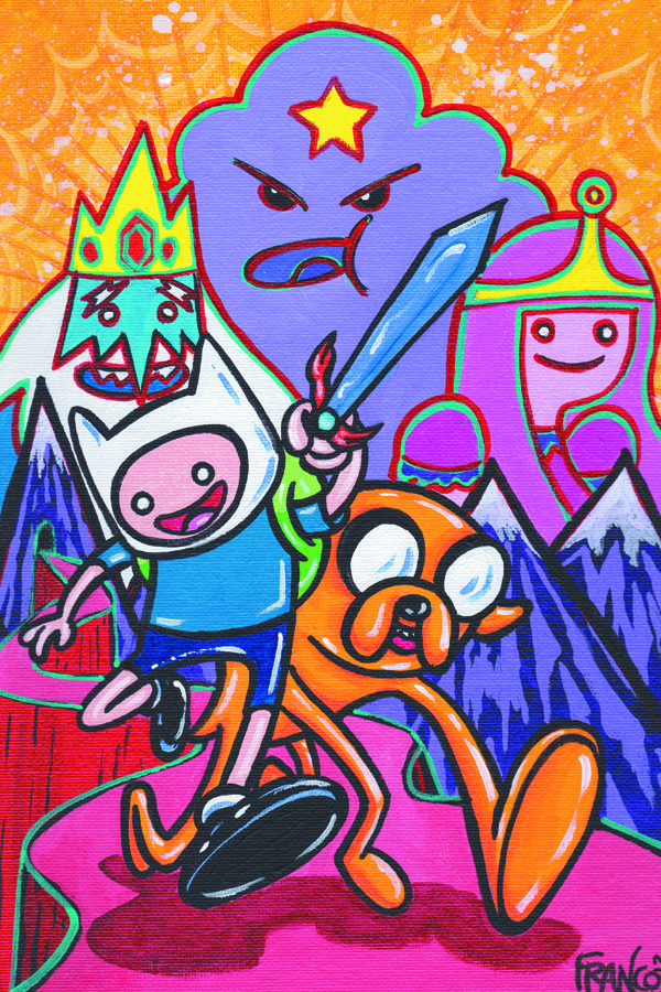 ADVENTURE TIME #7 FRANCO VAR CVR