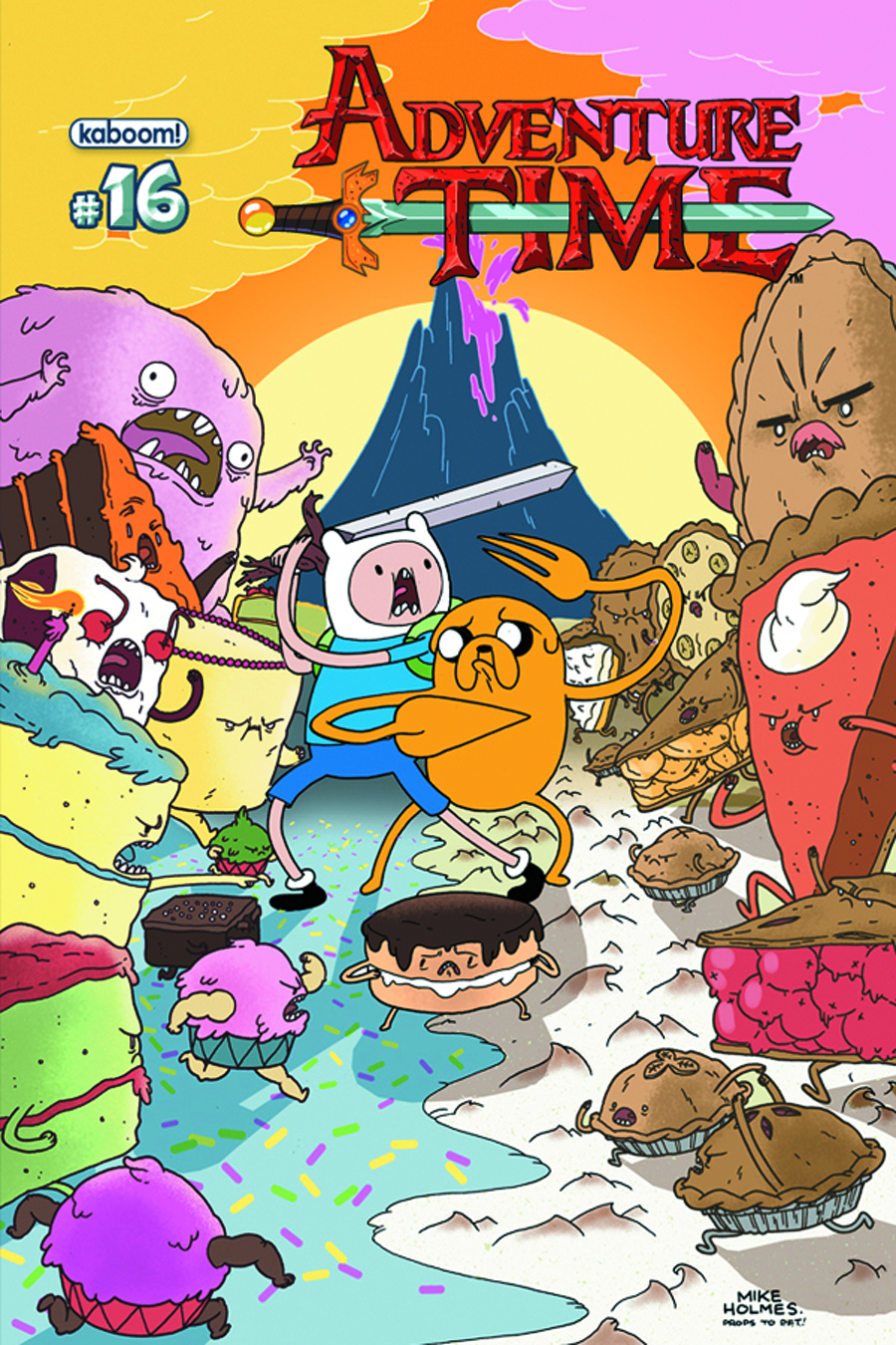 ADVENTURE TIME #16 MAIN CVRS