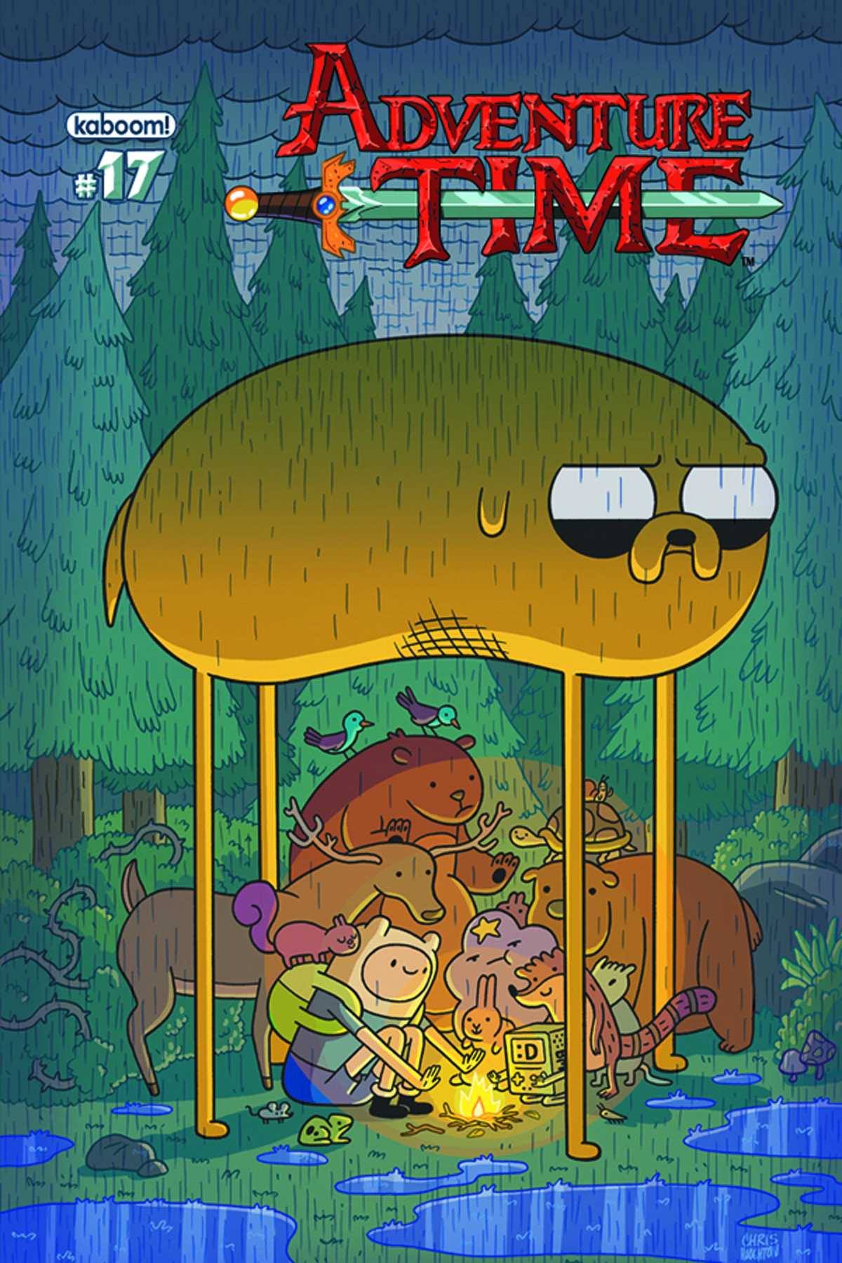 ADVENTURE TIME #17 MAIN CVRS