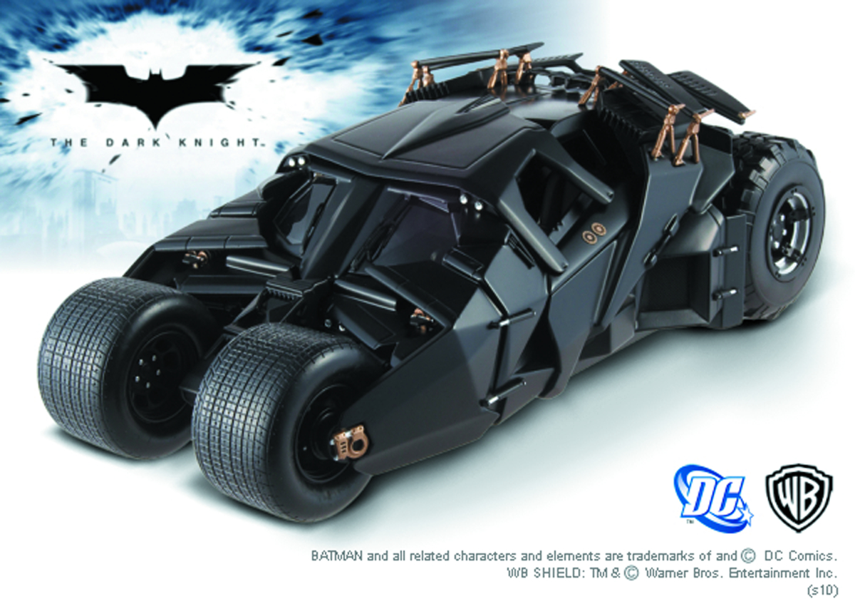 HW ELITE DARK KNIGHT TRIL BATMOBILE 1/18 DIE-CAST