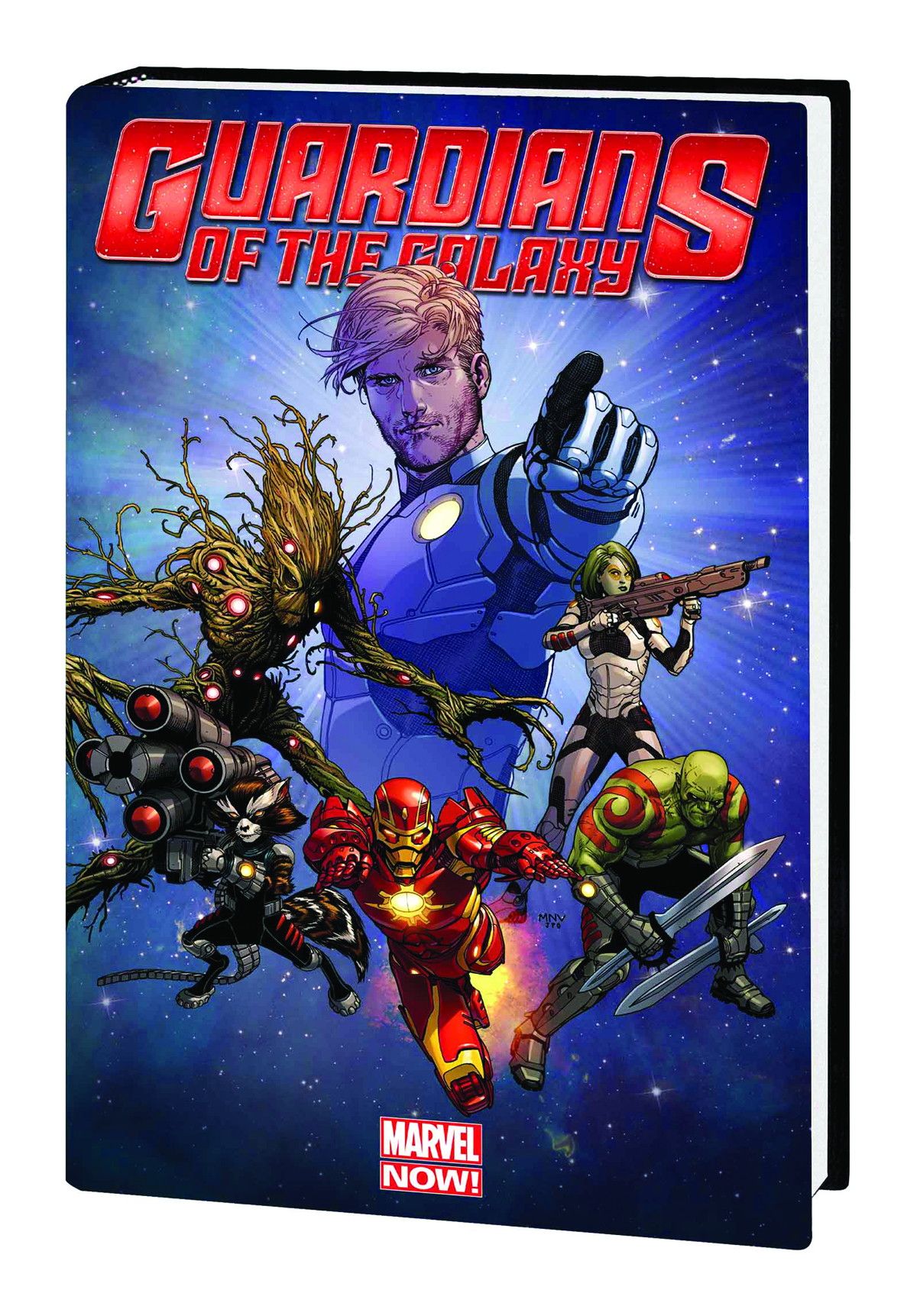 GUARDIANS GALAXY PREM HC VOL 01 COSMIC AVENGERS NOW