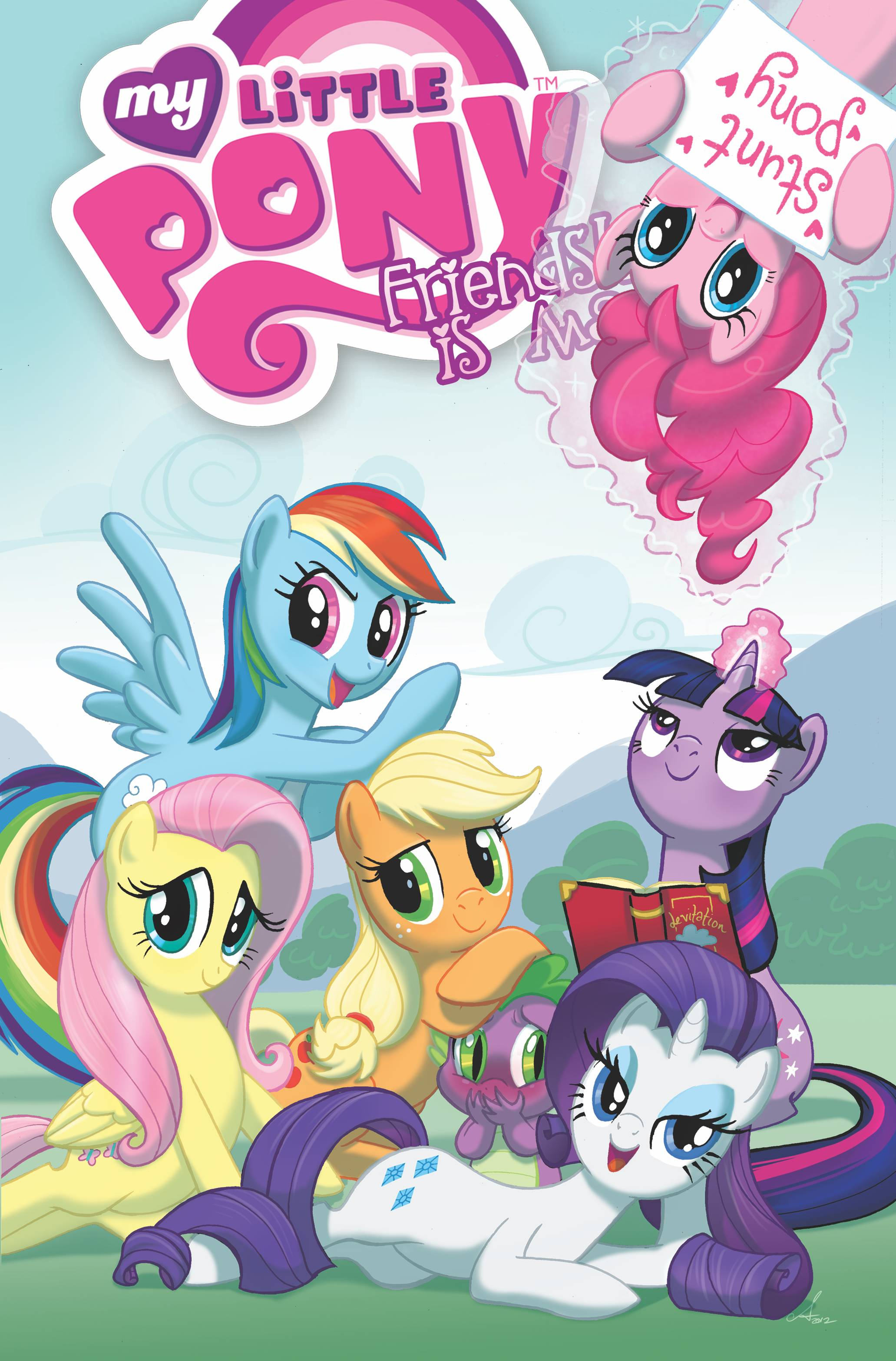 MY LITTLE PONY FRIENDSHIP IS MAGIC TP VOL 02