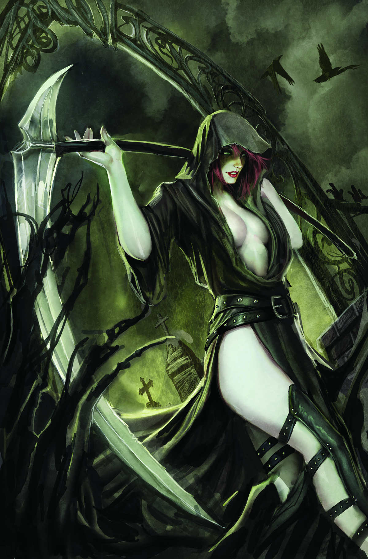 GFT NO TOMORROW #1 (OF 5) B CVR SEJIC