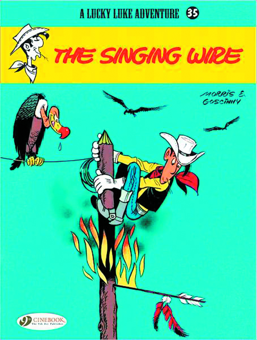 LUCKY LUKE 35 THE SINGING WIRE