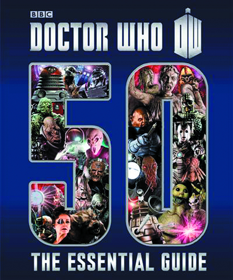 DOCTOR WHO ESSENTIAL GUIDE TO 50 YEARS OF DOCTOR WHO
