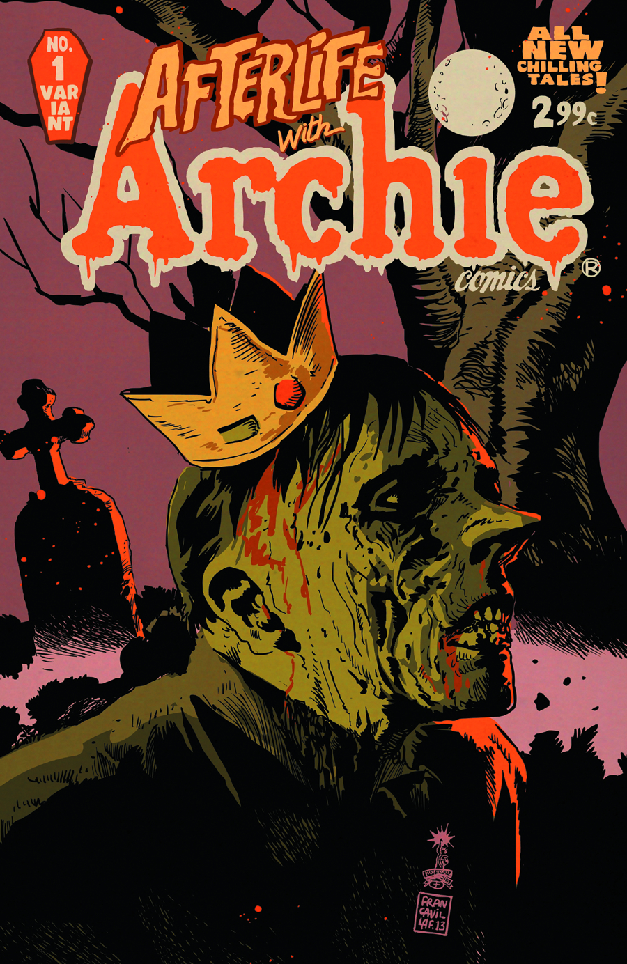 AFTERLIFE WITH ARCHIE #1 FRANCAVILLA VAR CVR