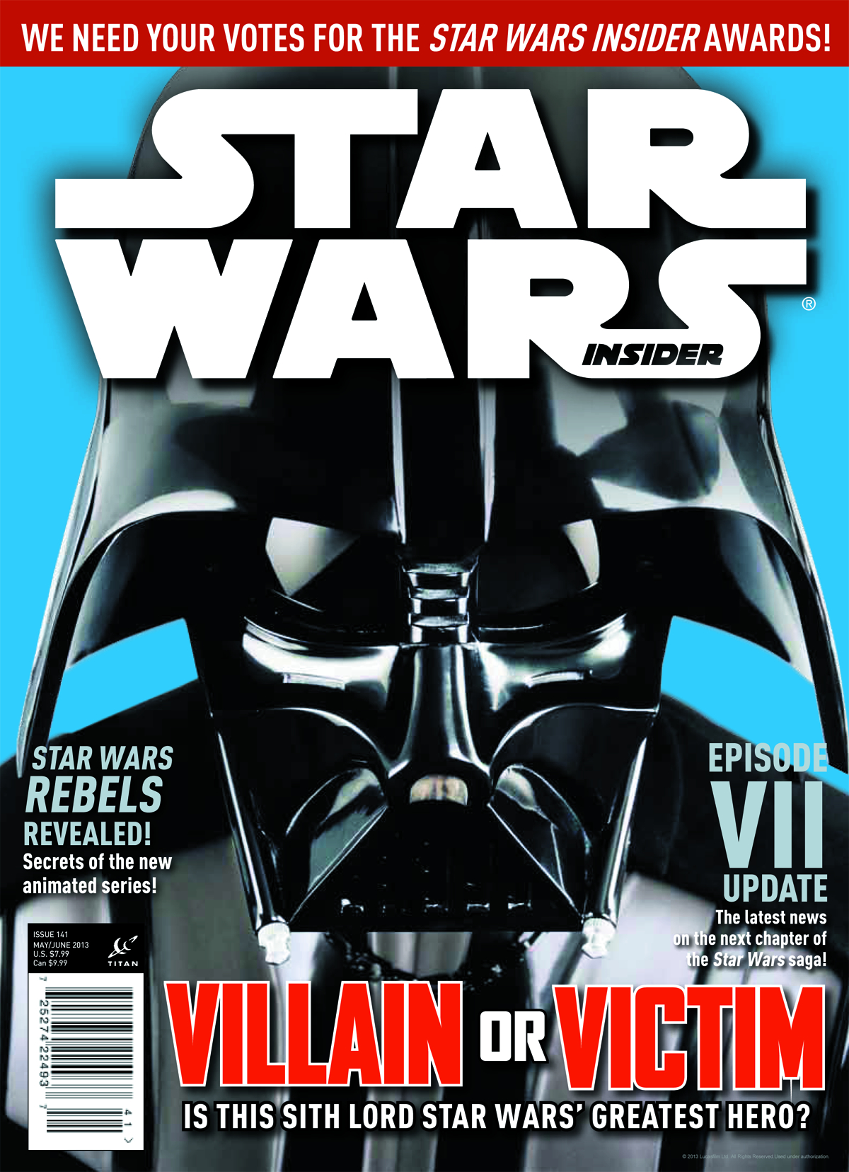 STAR WARS INSIDER #145 NEWSSTAND ED