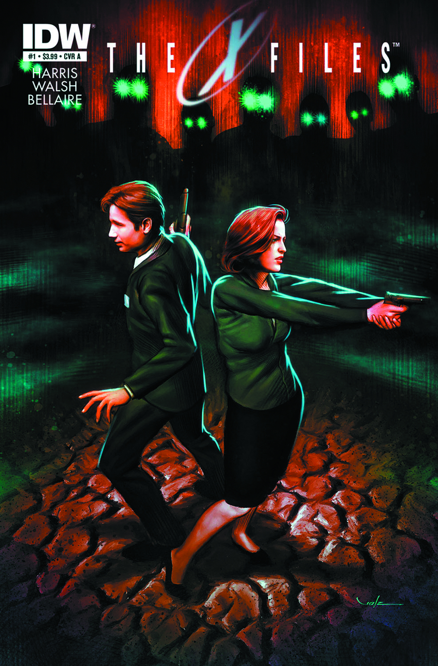 (USE AUG138054) X-FILES SEASON 10 #1 2ND PTG (PP #1082)