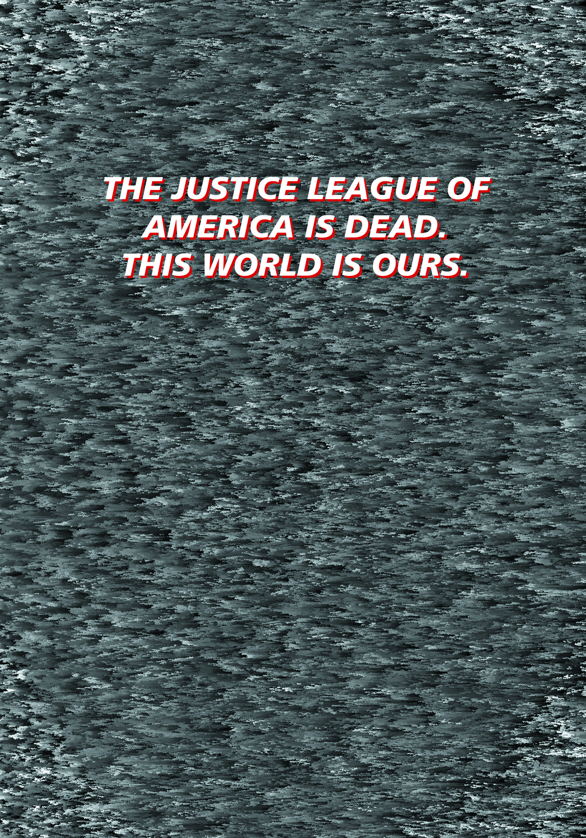 JUSTICE LEAGUE OF AMERICA #8 BLACK & WHITE VAR ED (EVIL)