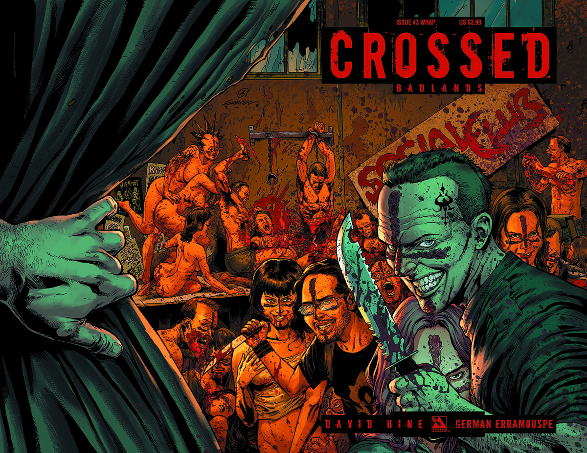 CROSSED BADLANDS #43 WRAP CVR (MR)