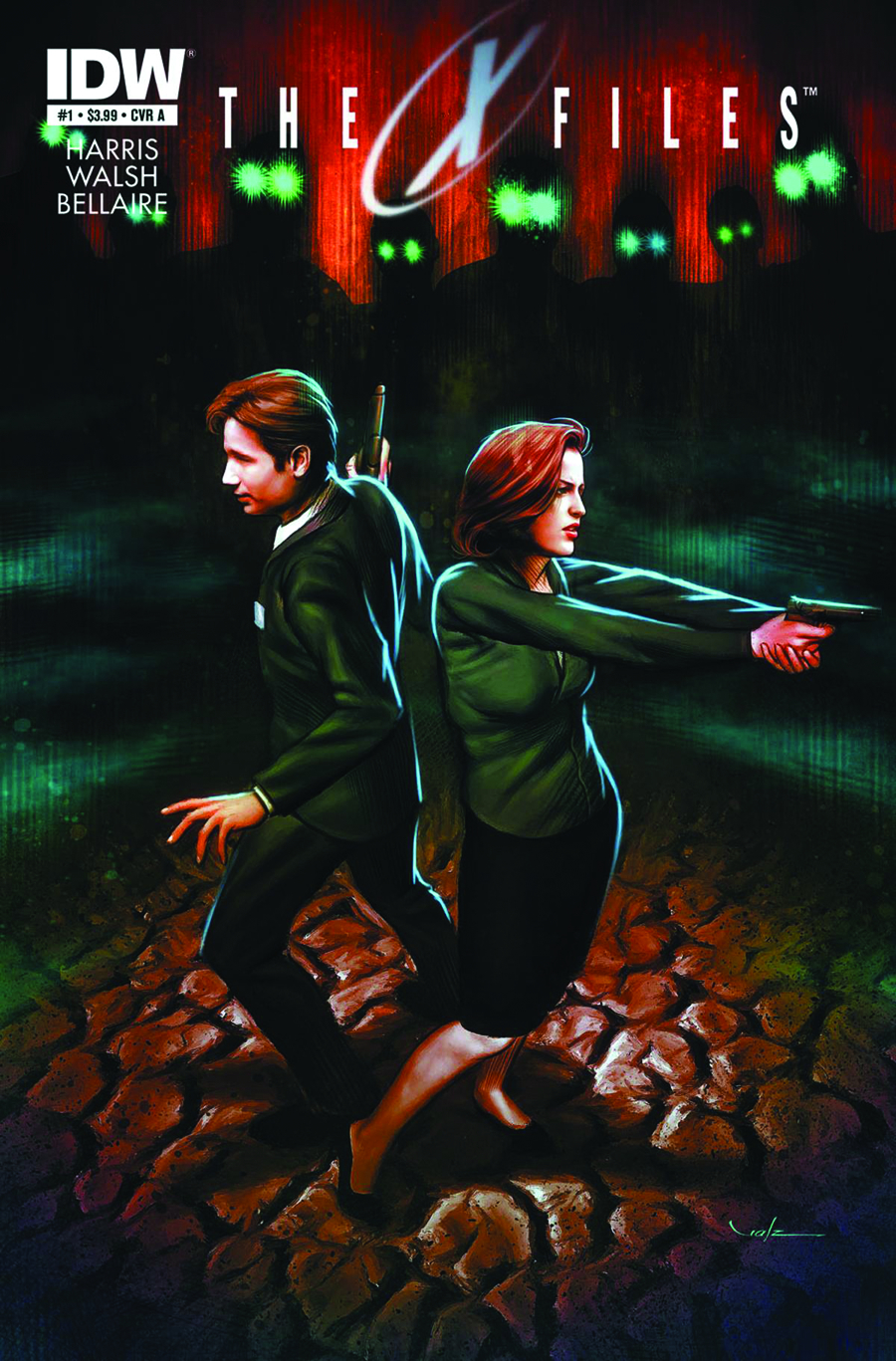 X-FILES SEASON 10 #1 4TH PTG (PP #1093)