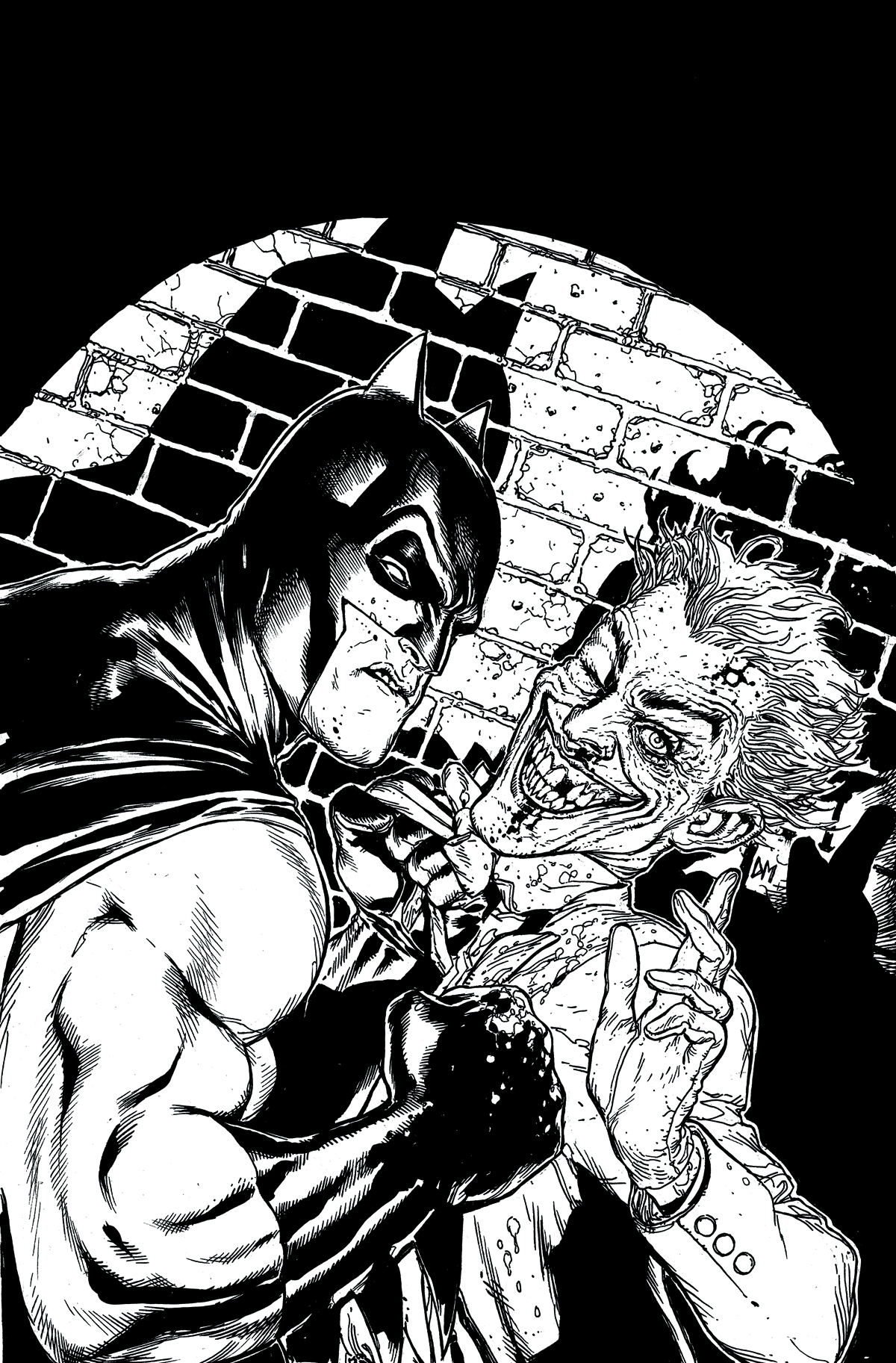 BATMAN BLACK & WHITE #6 (OF 6)