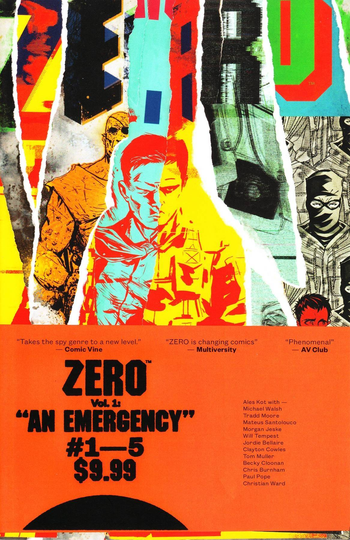 ZERO TP VOL 01 AN EMERGENCY (MR)